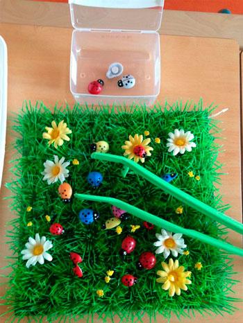 весенне-летняя сенсорная коробка