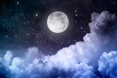 Загадки про космос: луна