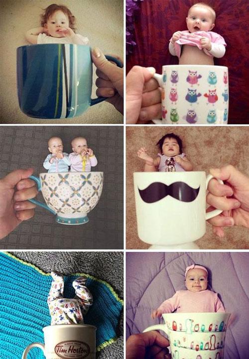 лучшие идеи для фото детей в кружках