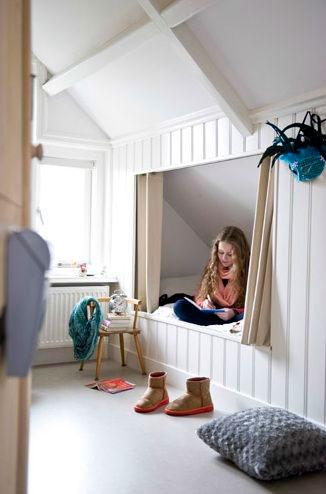 детская комната на мансарде 4