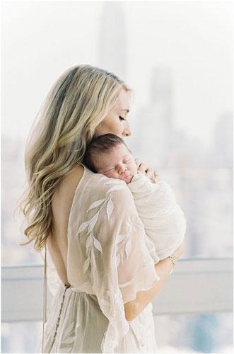 идеи для фото мамы и новорожденного