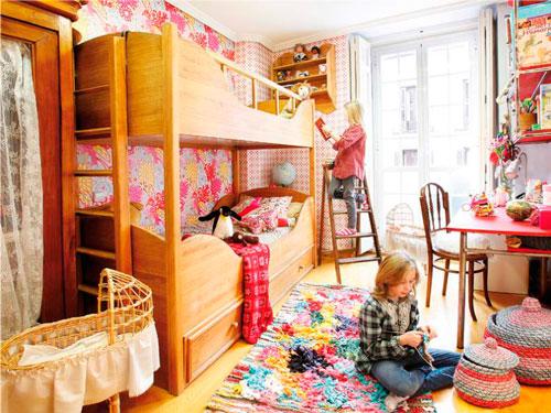 Детские комнаты для двух девочек 11