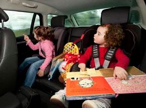 Чем занять ребенка 4-5 лет в машин
