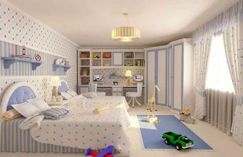 дизайн детской комнаты для девочек 4