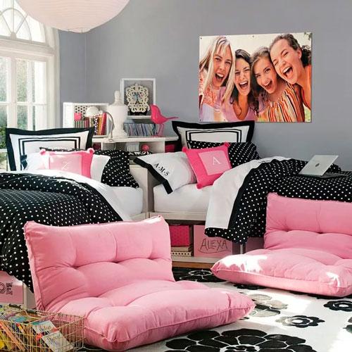 комната для двух девочек фото 10