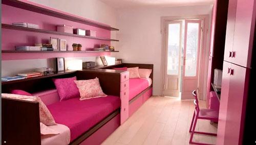 комната для двух девочек фото 15