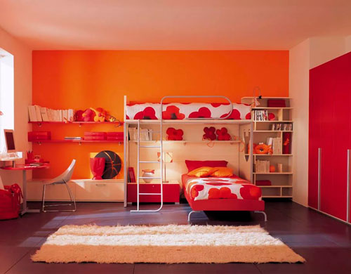 дизайн детской комнаты для девочек 2