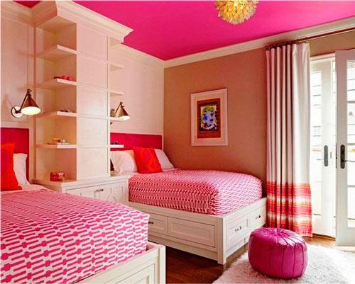 дизайн детской комнаты для девочек 9