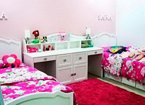 комната для двух девочек фото 6
