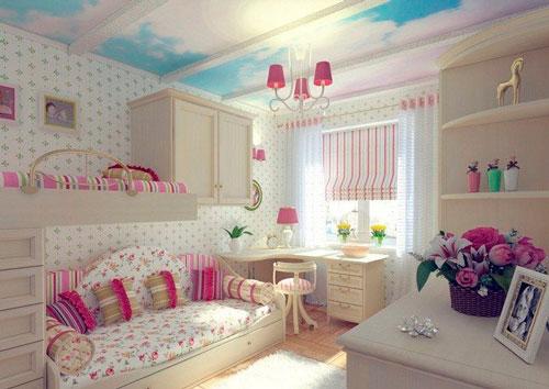 дизайн комнаты для девочек 19