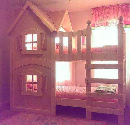 дизайн комнаты для девочек 7
