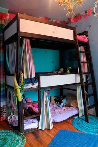 дизайн комнаты для девочек 12