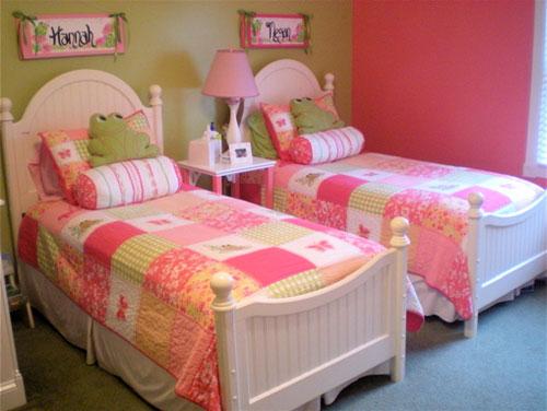 комната для двух девочек фото 16