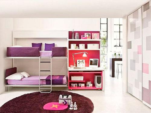 дизайн комнаты для девочек 4