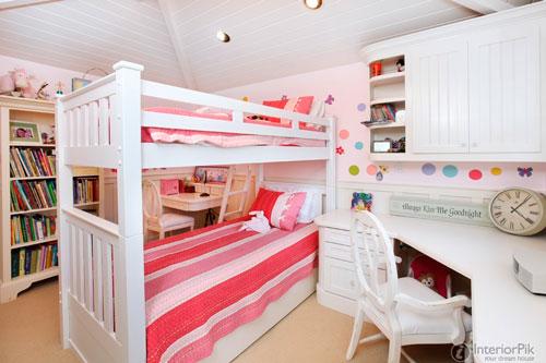 Детские комнаты для двух девочек 7