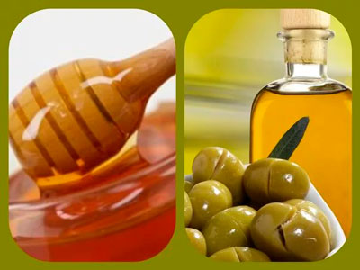 Рецепт маски: мед и оливковое масло