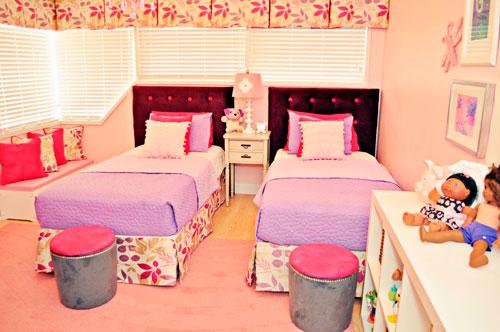 комната для двух девочек фото 5