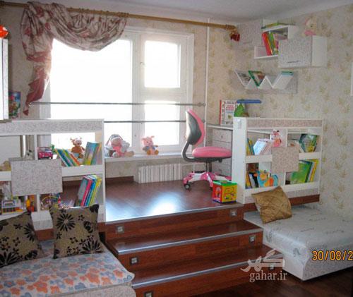 Детские комнаты для двух девочек 10