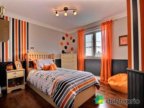оранжевая комната подростка 2