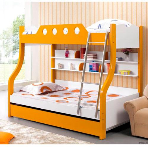 детская комната в оранжевом цвете 6