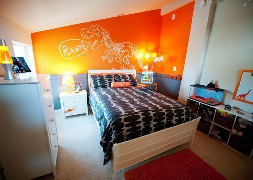 оранжевая комната подростка 6