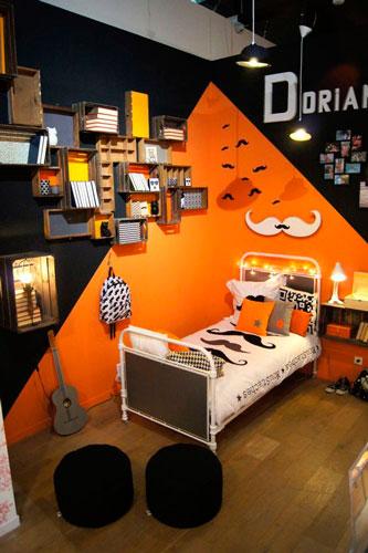 оранжевая комната подростка 4