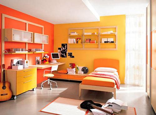 оранжевая детская 5