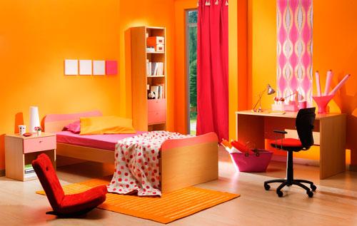оранжевая детская 4