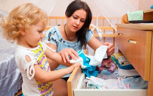 Как приучить ребенка к порядку в раннем возрасте