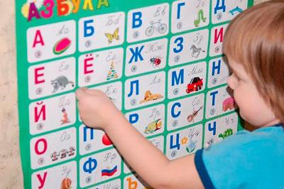 Изучение алфавита с детьми посредством игры «Карточки»