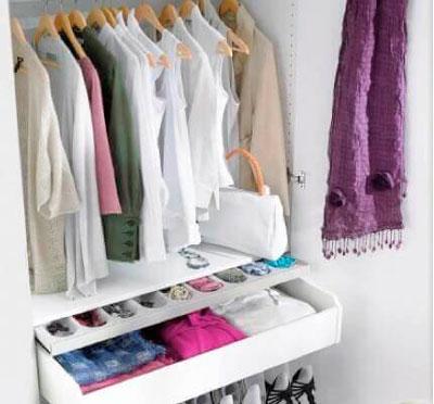 порядок в шкафу с одеждой 2