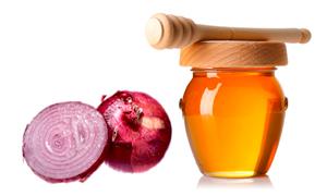 Маска против выпадения волос с медом и луком