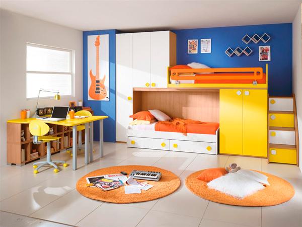 дизайн комнаты для двух мальчиков 4