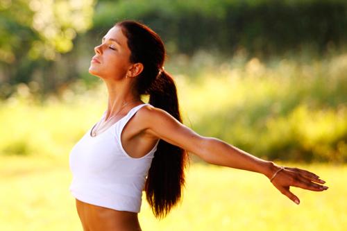 Дыхательные упражнения для похудения живота и боков для женщин 1