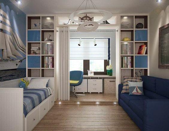 идеи для оформления интерьера детской комнаты для мальчиков