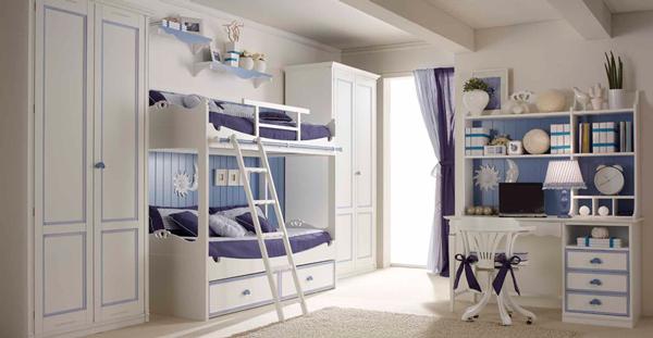 Дизайн детской комнаты для 2 мальчиков: шкафы для детей