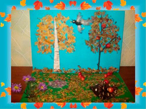 Детские поделки из природного материала своими руками 44