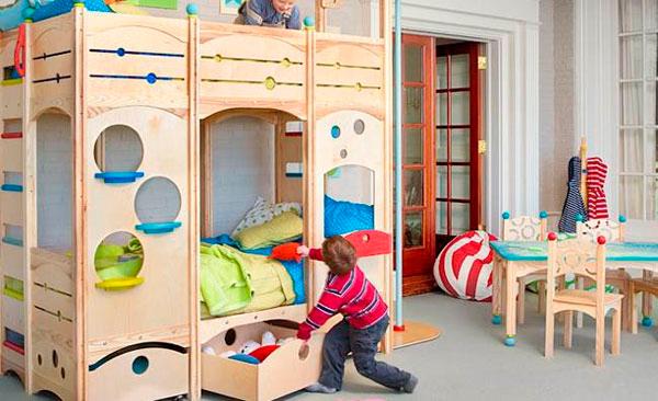 комната дошкольников