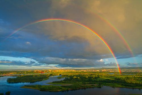 загадки про природу для детей: радуга