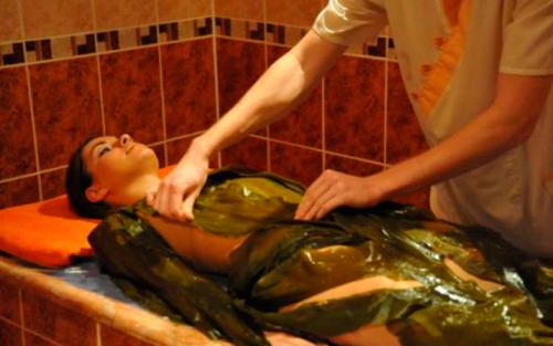 горячее водорослевое обертывание для женщин
