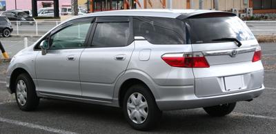Машина для многодетной семьи: Honda Airwave