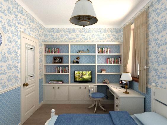 Комната для мальчика в стиле Прованс 4