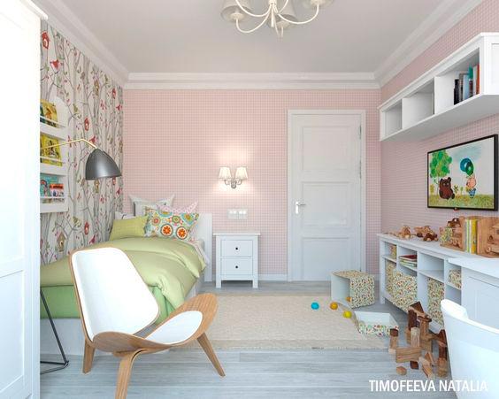 как оформить детскую комнату в стиле Прованс