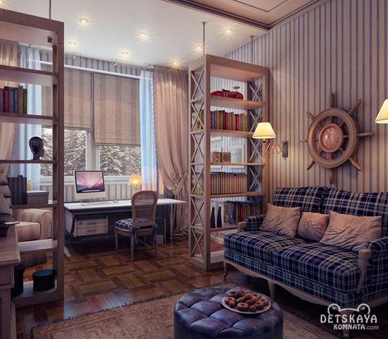 Комната для мальчика в стиле Прованс 2