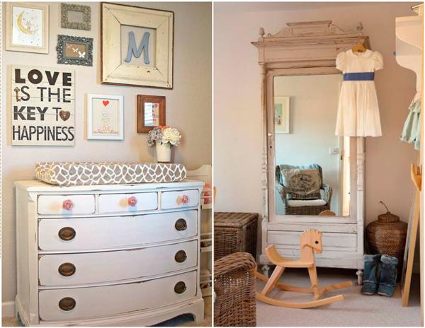 мебель в детской комнате в стиле Прованс 4