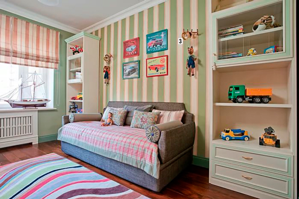 детская комната для мальчика в стиле Прованс 7