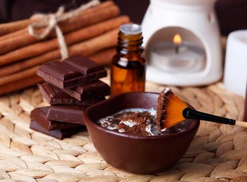 шоколадное обертывание для живота