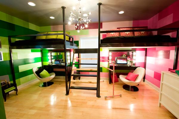 фото комнаты для двух разнополых детей