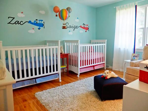 фото комнаты мальчика и девочки