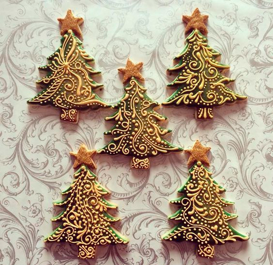 карамельная глазурь для новогоднего печенья